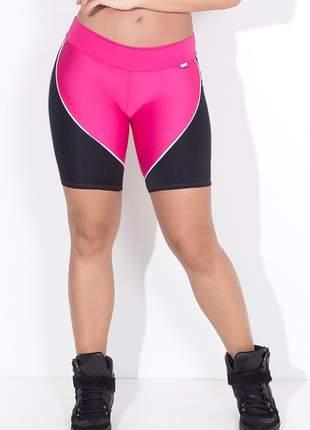 Bermuda feminina fitness em duas cores