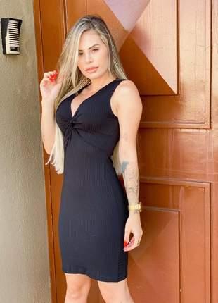 Vestidos feminino curto canelado atacado nozinho r.699