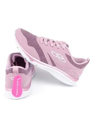 Tênis feminino academia olympikus flower rosa tamanho 34