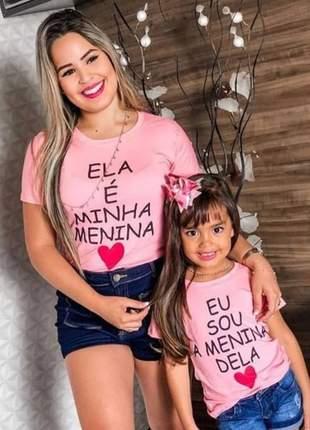 Tshirt mae e filha (conjunto)