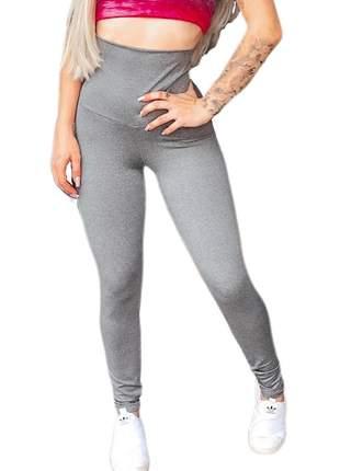 Calça legging cintura super alta modeladora s/ pezinho lbb