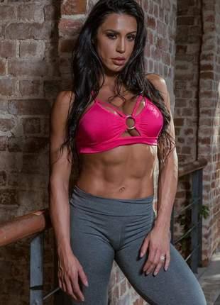 Top fitness com argola by gracyanne barbosa