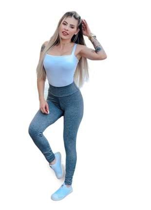 Calça legging feminina suplex básico cintura alta ref 23a
