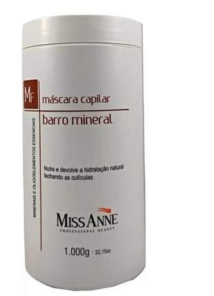 Mascara capilar miss anne barro mineral 1kg