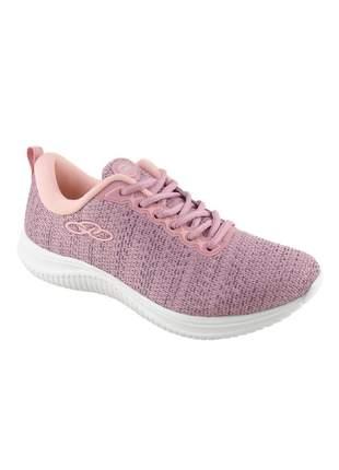 Tênis academia feminino olympikus venus caminhadas corridas treinos rosa