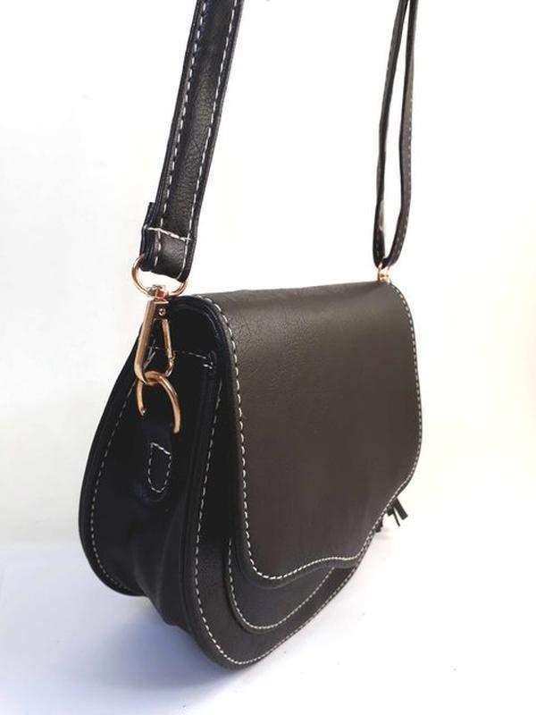 a0fa2fe69 ... Bolsa bag michele preta - bolsa feminina pequena, tiracolo, de couro  ecológico2