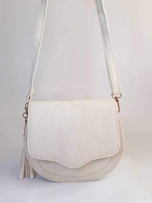8114229e7 Bolsa bag michele branca - bolsa feminina pequena, tiracolo, de couro  ecológico1 ...