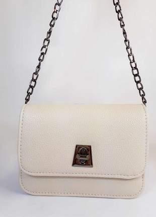 Bolsa bag mariana branca