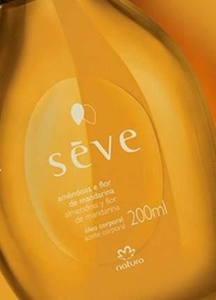 Óleo desodorante corporal amendoas e flor de mandarina sève - 200ml