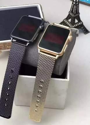 Kit com 2 relógio digital led unissex #la