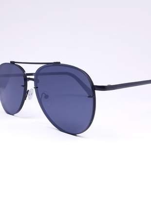 Óculos feminino aviador preto - proteção uv