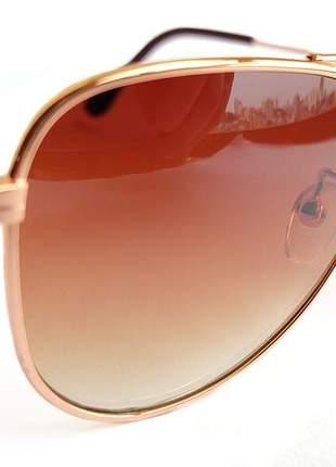 Óculos de sol feminino infantil aviador + estojo e flanela