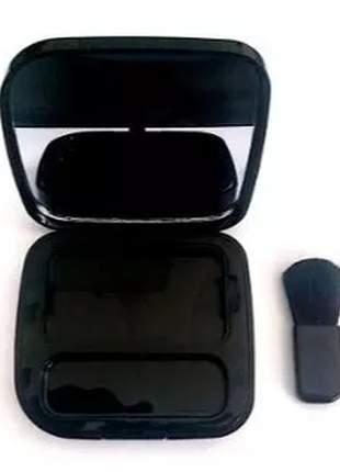 Estojo de maquiagem blush compacto natura una (sem refil-pó)