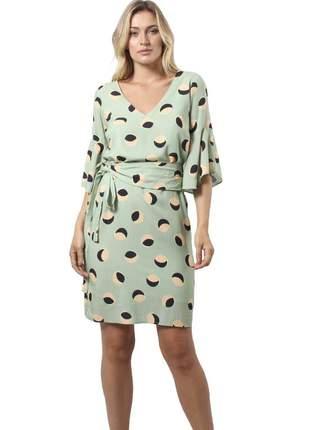 18004- vestido estampado curto