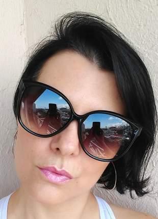 Óculos de sol feminino classic grande lançamento verão 2020