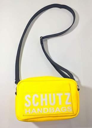 Bolsa necessaire handbag amarela