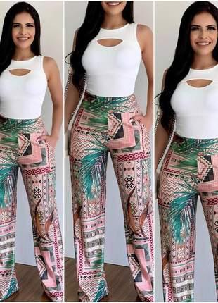 Calça pantalona edição limitada