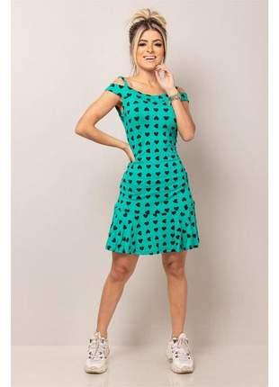 Vestido tancinha green
