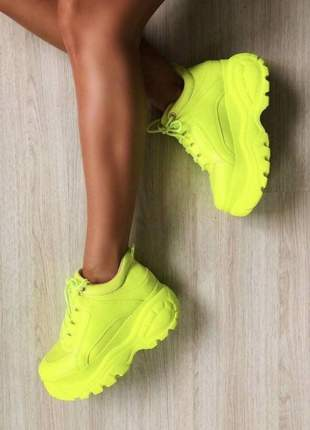 Tênis sneaker feminino plataforma