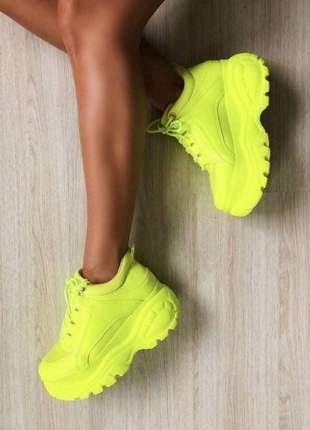 Tênis sneaker feminino  plataforma conforto