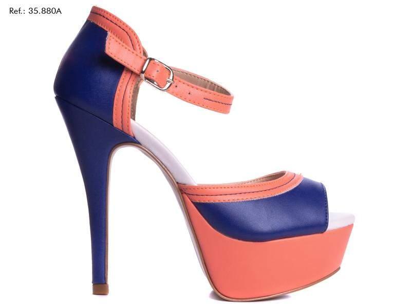 Bizz Store - Bolsa Saco Feminina WJ Bicolor Média Couro