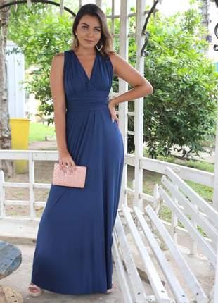 Vestido multiformas versátil várias formas amarrar azul marinho marsala rosê