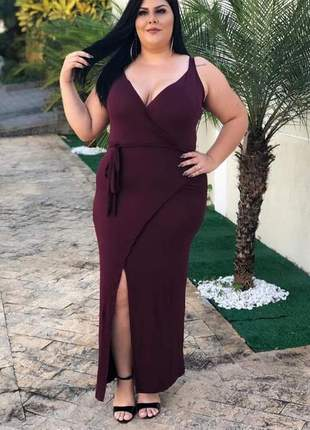 😍 vestido envelope plus size