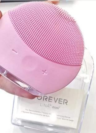 Escova de limpeza facial elétrica forever