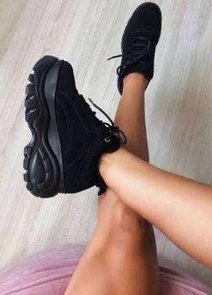 Tênis sneaker eminino  plataforma conforto