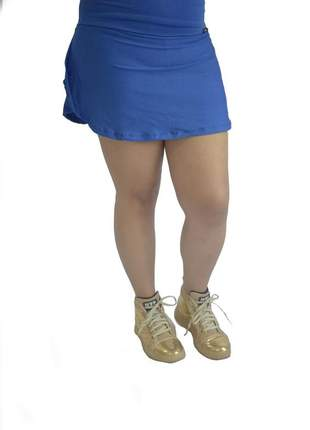 Saia short azul