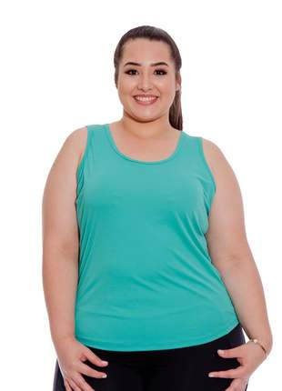 Regata plus size fitness