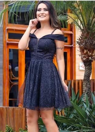 Vestido de festa luxo curto
