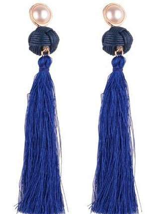 Bolsa bag brinco paloma azul