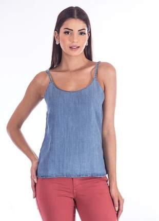 Regata sisal jeans azul