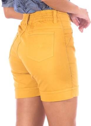 Short sisal meia coxa com elastico color