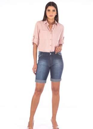 Bermuda sisal jeans ciclista blue jeans