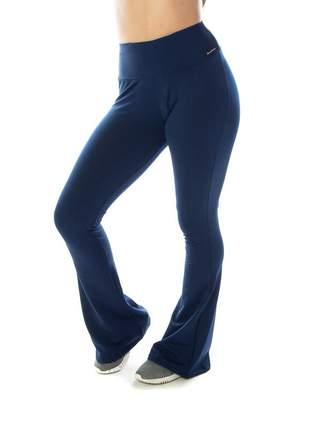 Calça legging bailarina azul marinho