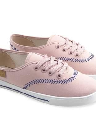 Tênis barato feminino casual sapatênis sapatilha moleca original moda atual promoção
