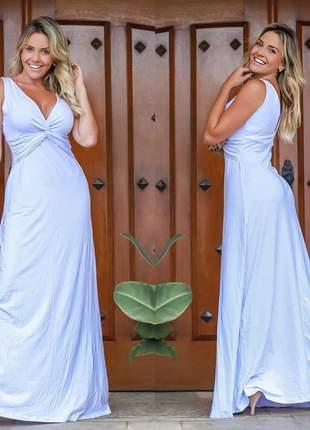 Vestido branco clarice
