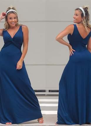 Vestido azul clarice