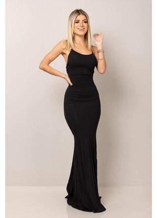 Vestido sereia empina bumbum