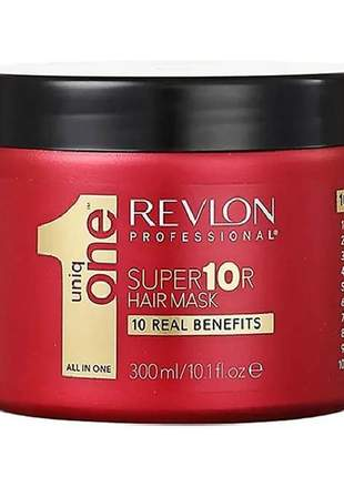 Revlon professional uniq one all in one supermask - máscara de tratamento - 300ml