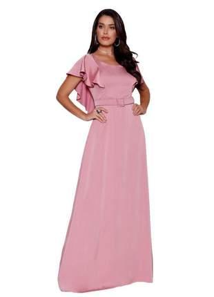 Vestido dress longo fasciniu's roupas evangelicas 2020