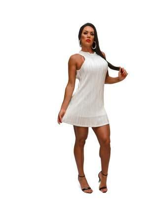 Vestido plissado plinia may style