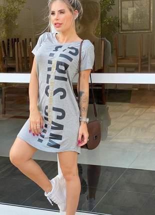 Vestido girls cam - grey