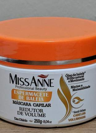Mascara miss anne espermacete de baleia 250g