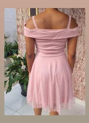 Vestido de festa luxuoso  curto