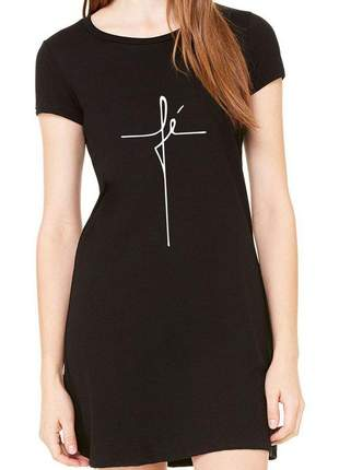 Vestido evangélico vestidos femininos com frases gospel fé
