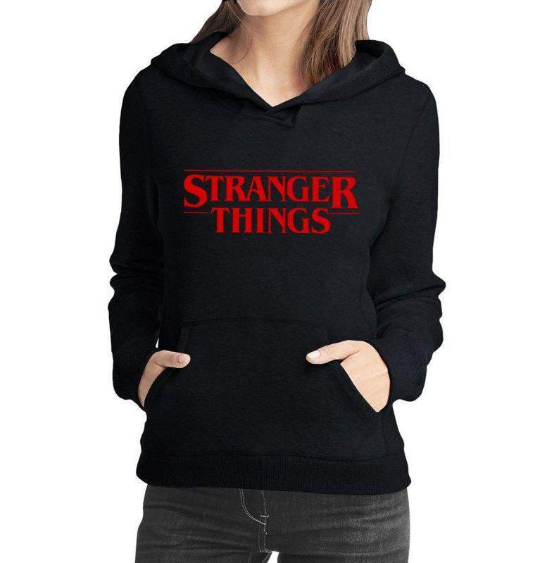 Moletom stranger things feminino casaco