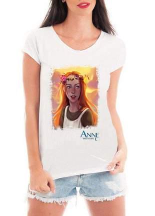 Camiseta feminina anne with an e blusa camisa série